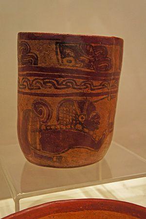 Salvadorans - Mayan artifact found at the Joya de Cerén archaeological site