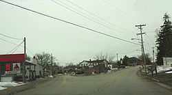 Looking south in downtown Eagle