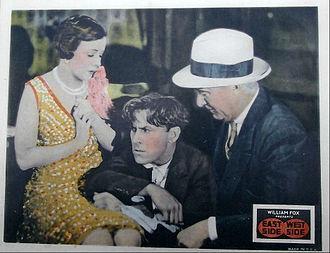 East Side, West Side (1927 film) - Lobby card