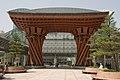 East entrance to Kanazawa station (2444776200).jpg