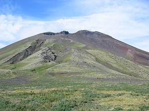 Semisopochnoi Island - Image: Eastern Cerberus Cone