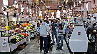 Eastern Market, Washington, D.C. - Interior of Eastern Market in 2010