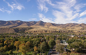 Pocatello, Idaho - Eastern Pocatello in 2009, from Red Hill on the ISU campus