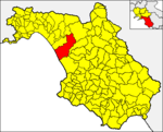 Locatio Eboli in provincia Salernitana