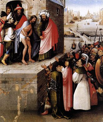 Ecce Homo (Bosch, 1470s) - Image: Ecce homo by Hieronymus Bosch