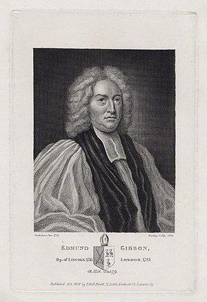 Burnet Reading - Image: Edmund Gibson by Burnet Reading, after John Vanderbank