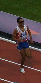 Eduar Villanueva Venezuelan middle-distance runner