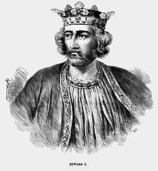 Londýn anglicko úmrtie 7 júl 1307 68 rokov burgh by sands anglicko