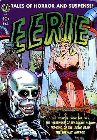 Avon (publisher) - Avon revived the 1947 one-shot title Eerie in 1951 and gave it a 17-issue run.