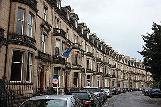 John Home Robertson - Eglinton Crescent, Edinburgh