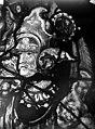Eglise Saint-Martin - Vitrail, baie 4 (détail), Tête du pape Adrien VI d'Utrecht en soldat du Christ - Montmorency - Médiathèque de l'architecture et du patrimoine - APMH00005409.jpg