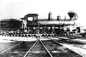 4-10-0 - El Gobernador, the only 4-10-0 locomotive to operate in the United States
