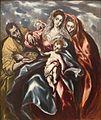 El Greco - La Sagrada Familia, c. 1610-11.jpg