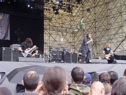 Gli Eldritch al Gods of Metal 2007