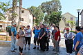 Elef Milim Project - Wikipedians in Sarona IMG 0926.JPG