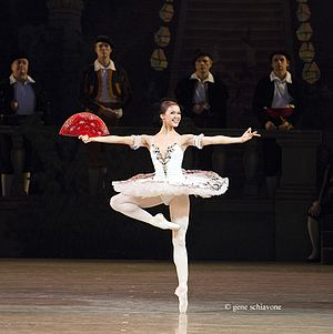 Don Quixote (ballet) - Elena Evseeva as Kitri in 2012