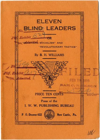 Eleven Blind Leaders (1910?)