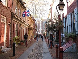 Elfreth's Alley - Image: Elfreth's Alley