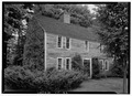 Elias Olcott House, Upper Meadows Settlement on old, colonial Connecticut Turnpike, Rockingham, Windham County, VT HABS VT,13-ROCHA.V,1-1.tif