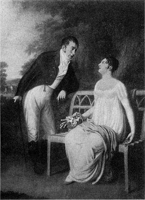 Gerhard von Hosstrup - Gerhard von Hosstrup and his wife Elisabeth née Seyler, painted ca. 1815 by Friedrich Carl Gröger