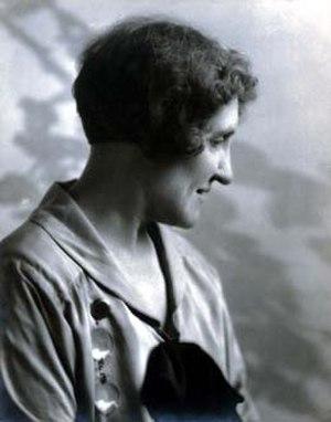 Ella E. McBride - Image: Ella Mc Bride by Wayne Albee ca 1921