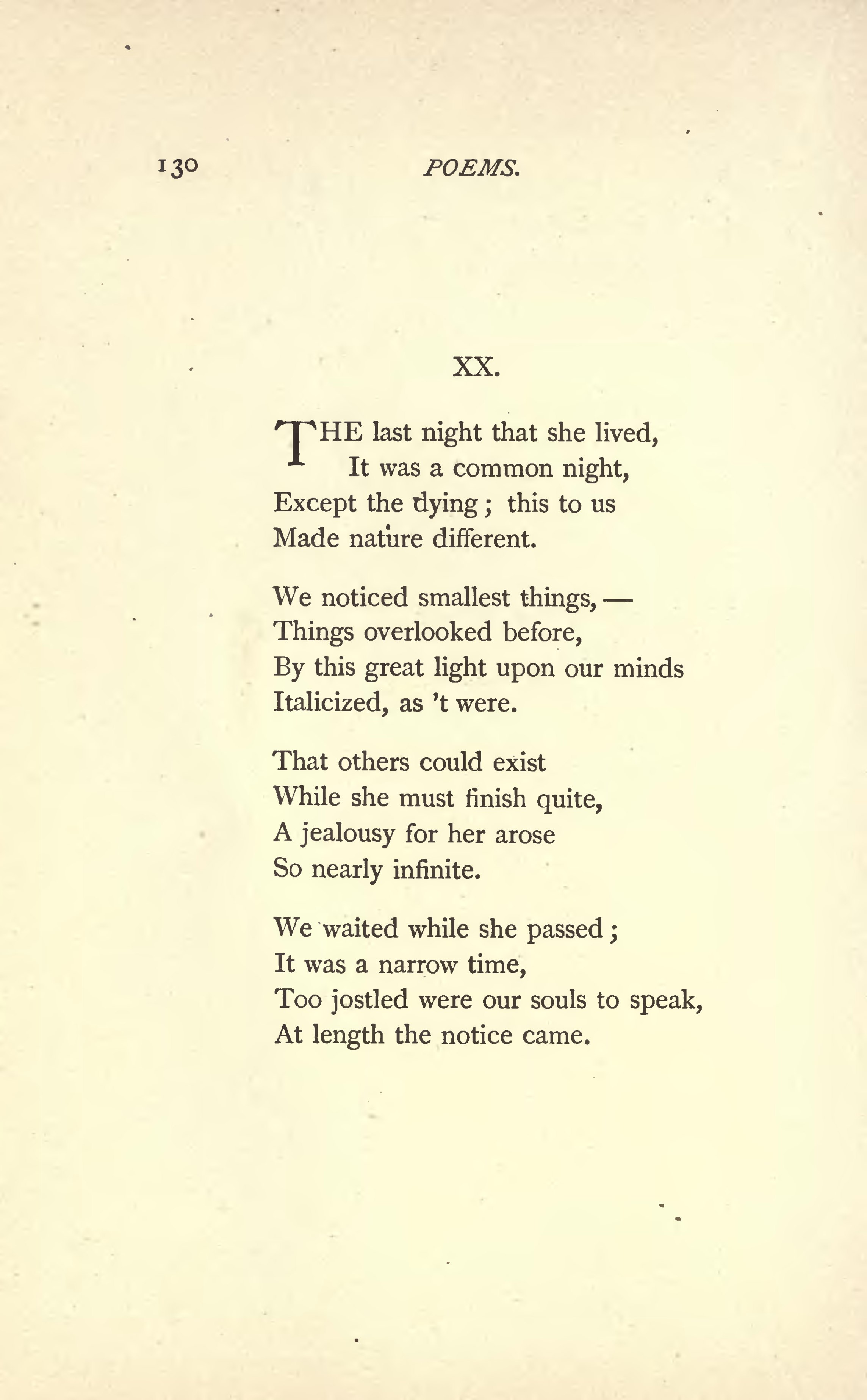 Poem in essay italicize