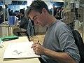 Emmanuel Lepage au festival de la bande dessinée de Chambéry, 2005.JPG