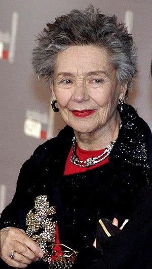 38th César Awards - Emmanuelle Riva, César Award for Best Actress.