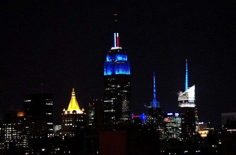 File:Empire State Building Blue Obama Election.JPG