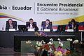 Encuentro Presidencial y II Reunión del Gabinete Binacional Colombia – Ecuador (11052488433).jpg