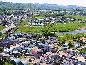 Engaru, Hokkaido - Image: Engaru Hokkaido May 2004 2