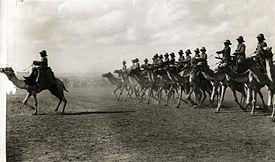 Engelse kameelruiters - English camel troopers.jpg