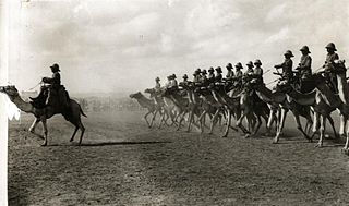 Somaliland Camel Corps former unit of the British Army based in British Somaliland