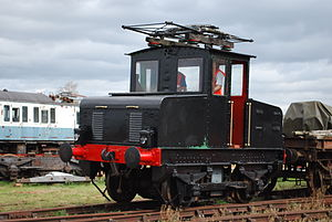 Electric Railway Museum, Warwickshire - Image: English Electric E905 (6243717021)