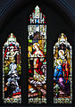 Enniskillen St. Michael's Church West Aisle Window 04 Revelation of the Sacred Heart to Saint Marguerite Marie Alacoque 2012 09 17.jpg