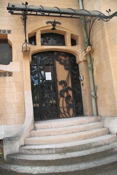 Entrée de la villa Majorelle