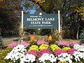 Entrance to belmont lake state park.jpg