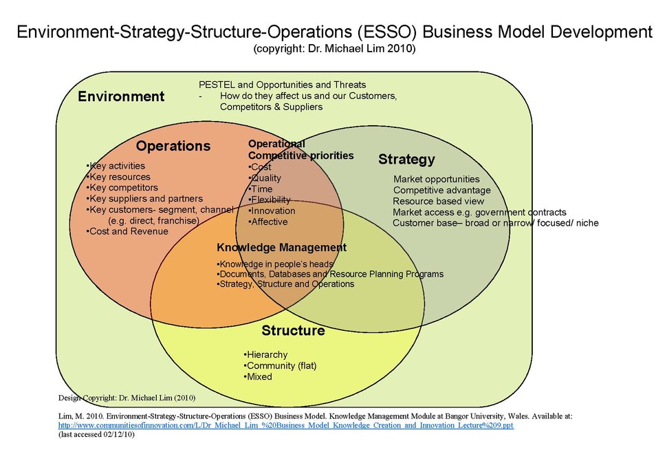 Environment-Strategy-Structure-Operations (ESSO) Business Model as designed by Dr Michael Lim 2010.pdf