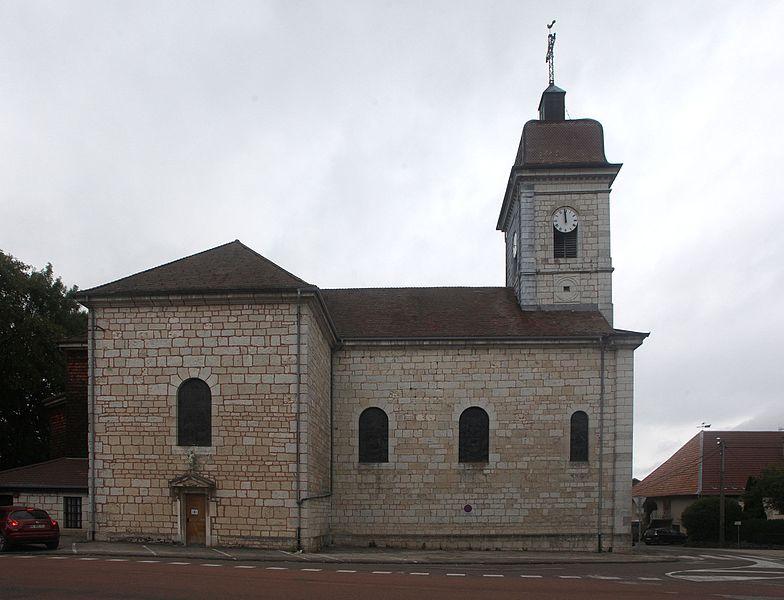 Église d'Épenoy (Doubs).