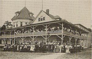 Epworth Heights - Epworth Heights Hotel, ca. 1905
