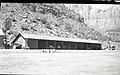 Equipment storage Building 79, Oak Creek utility area. ; ZION Museum and Archives Image 004 04 016 ; ZION 7342 (eba45bbafd1142649d9351e687a5428b).jpg