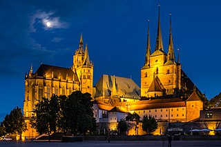 Erfurt Capital of Thuringia, Germany