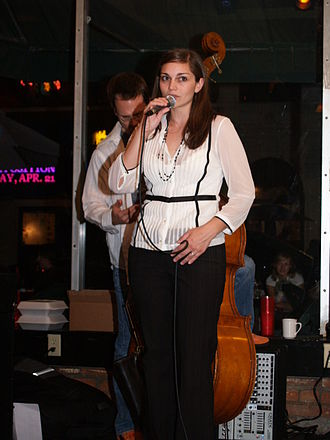 Erin Bode - Bode in April 2006