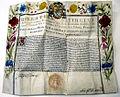 Ernennung Hieronymus de Nigris zum apostolischen Protonotar 1675.jpg