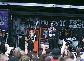 Escape the Fate discography - Escape the Fate playing at Warped Tour in 2009.