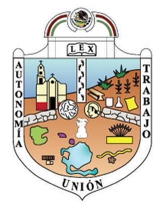 Eruviel Ávila Villegas - Image: Escudo Ecatepec