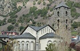 Image illustrative de l'article Église Sant Esteve d'Andorre-la-Vieille