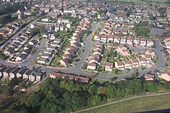 Estate Housing, Tibshelf - Aerial Photo - geograph.org.uk - 150051.jpg