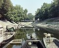 Esztergom, Kis-Duna, szemben a Bottyán híd. Fortepan 99255.jpg