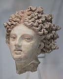 Etruscan terra cotta head of either Catha or Leucothea.jpg